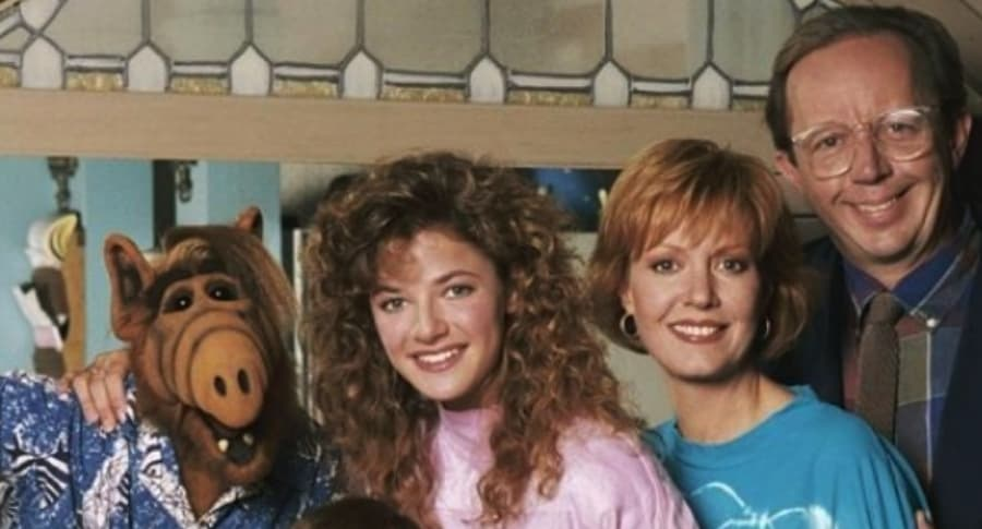 Personajes de 'Alf'.