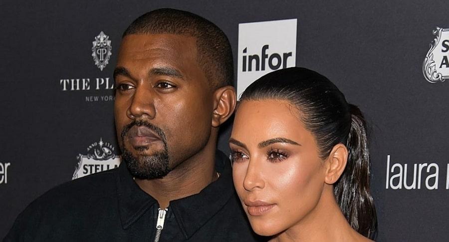 Kaney West y Kim Kardashian