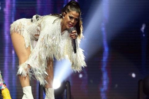 Alejandra Guzmán, cantante.