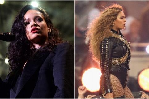Rihanna y Beyoncé