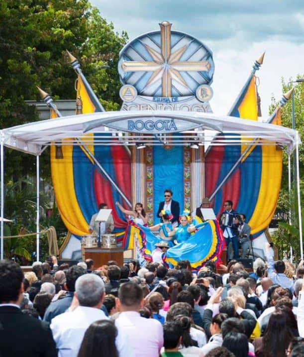 Inauguración iglesia cienciología Bogotá