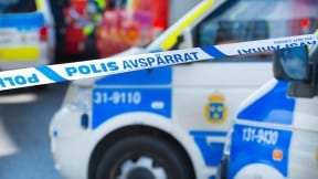 Cinta de policía en Suecia
