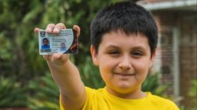 Niño de 12 años que entrará a la universidad.