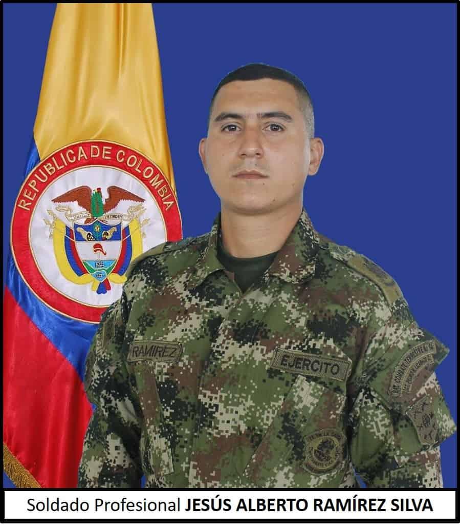 Soldado profesional Jesús Alberto Ramírez Silva