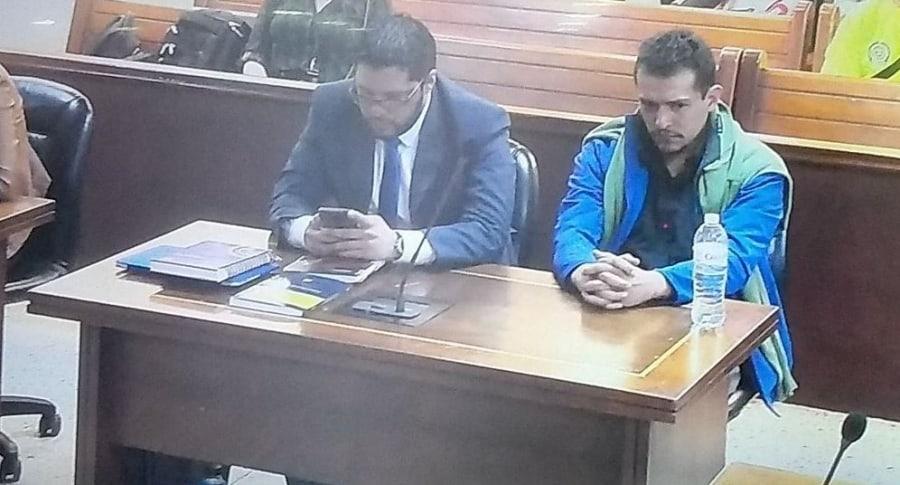 Hugo Alejandro Zabaleta Sossa, acusado de asesinar a Luisa Fernanda Ovalle