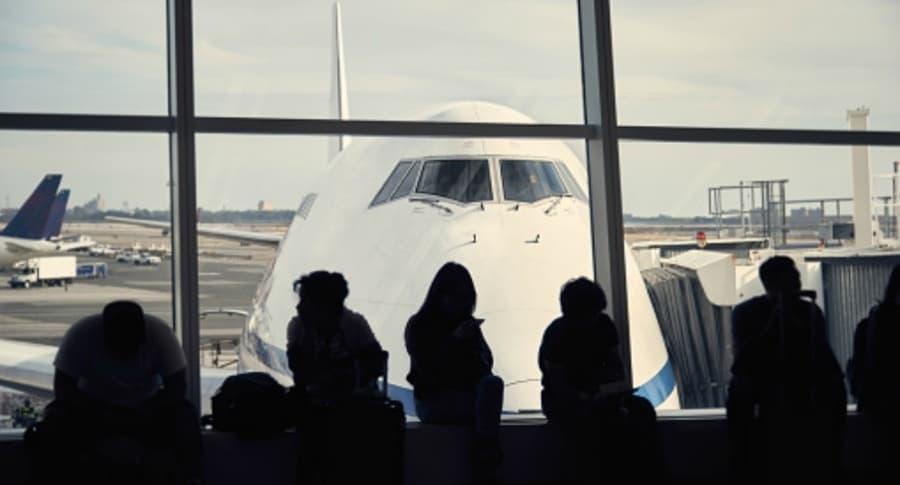 Espera de vuelos