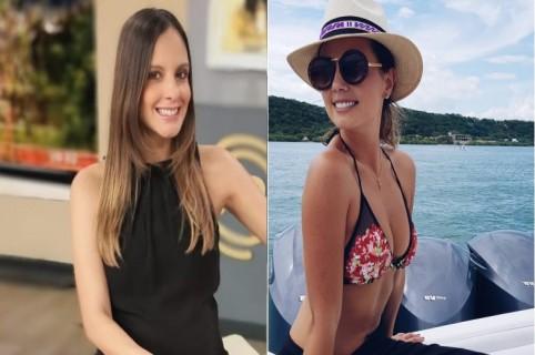 Laura Acuña y Milena López, presentadoras.