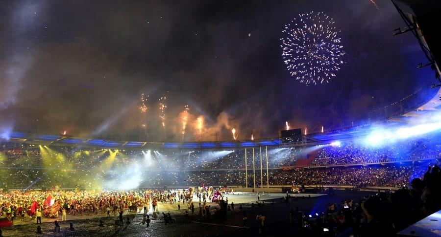 Ceremonia de clausura de los Juegos Centroamericanos y del Caribe Barranquilla 2018