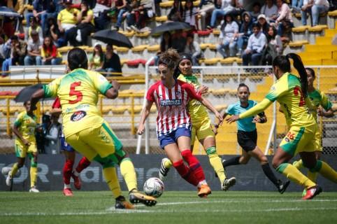 Atlético Huila y  Atlético de Madrid