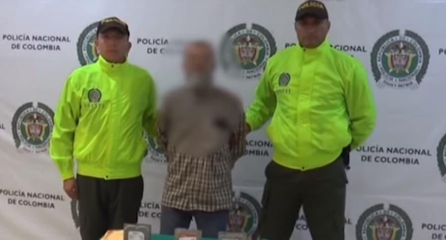 Hombre capturado por pornografía infantil
