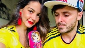 Maleja Restrepo y 'Tatán' Mejía