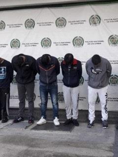 Capturados integrantes de banda 'Los Rolex'