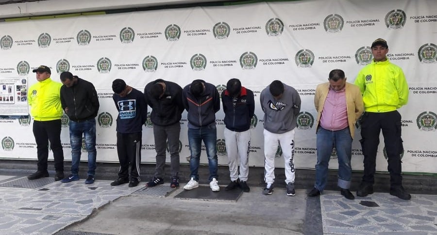 Capturados integrantes de banda 'Los Rolex'