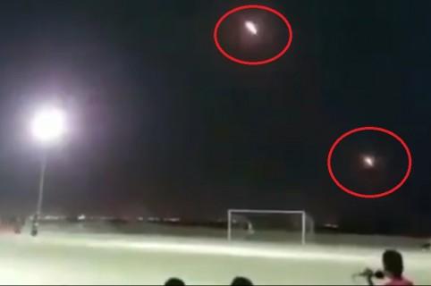 Misiles en partido de fútbol en Yemen