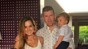 Catalina Gómez, Juan Esteban Sampedro y sus hijos