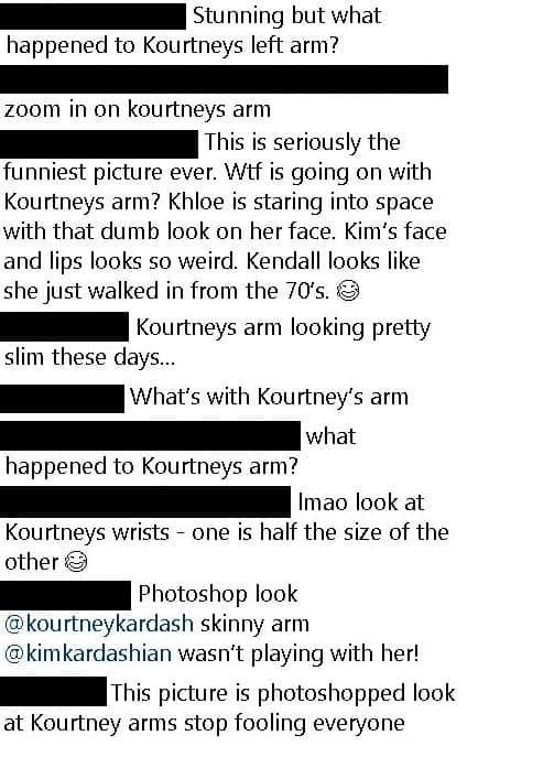Comentarios Kourtney