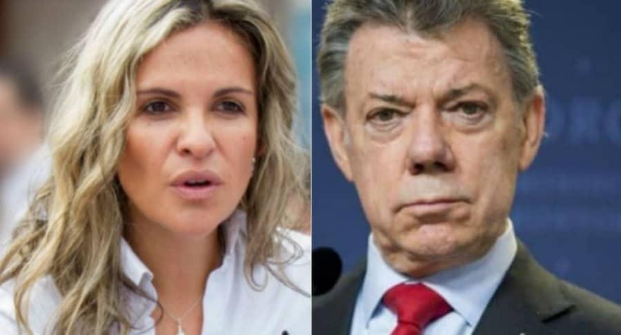 Exdirectora del Sena entuteló a Santos