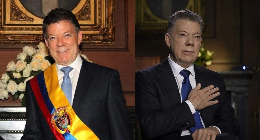 Cambio de Juan Manuel Santos
