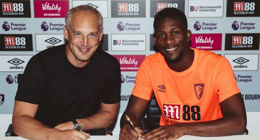 Jéfferson Lerma firma con Bournemouth