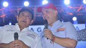 Poncho Zuleta e Iván Duque
