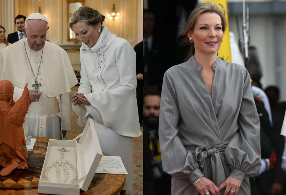 'Tutina' de Santos en visita del Papa