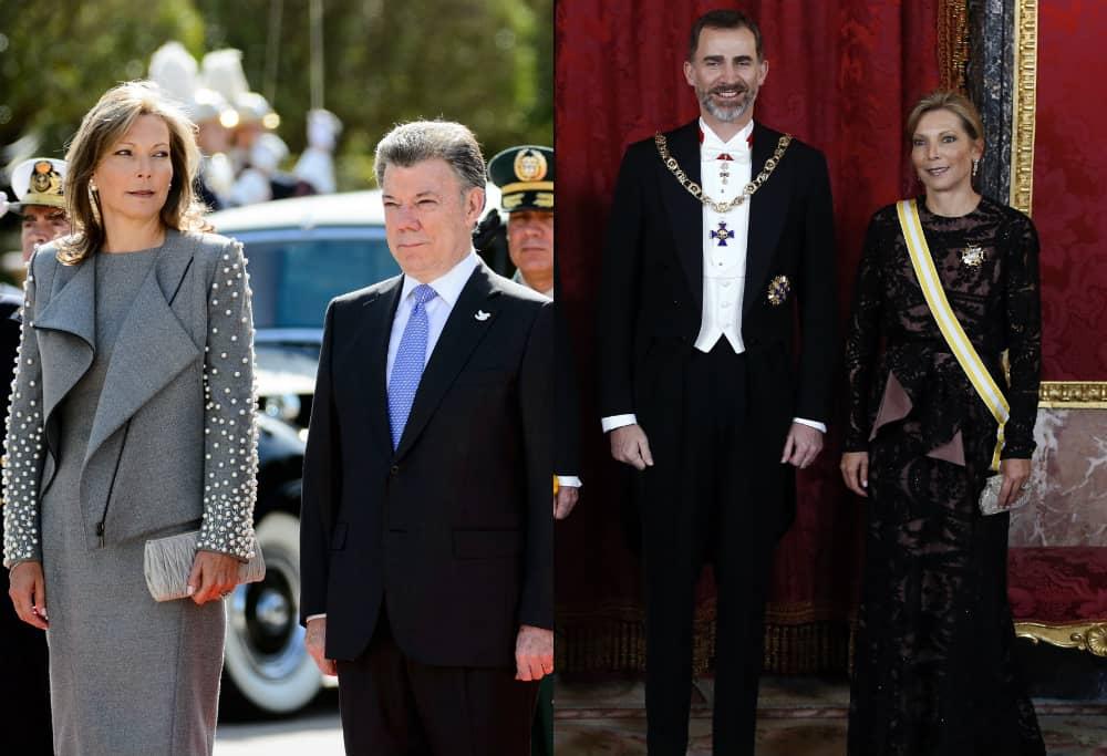 'Tutina' de Santos con Reyes de España