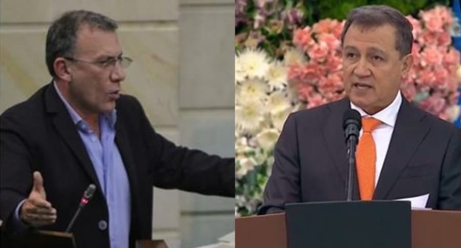 Roy Barreras y Ernesto Macías