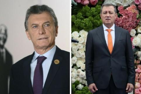 Mauricio Macri y Ernesto Macías