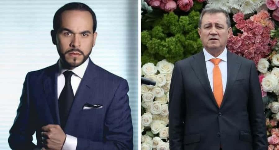 Abelardo de la Espriella y Ernesto Macías