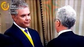 Iván Duque y Álvaro Uribe