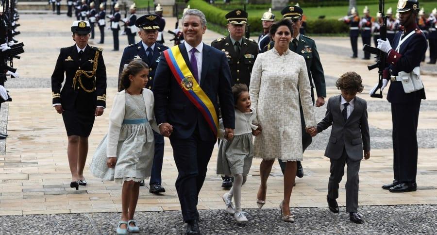 Posesión de Iván Duque como Presidente de Colombia