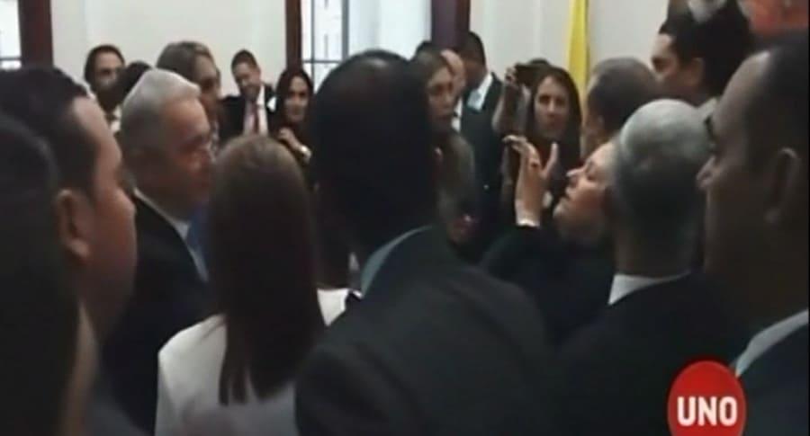 celebración Uribe