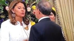 Marta Lucía Ramírez y Ernesto Macías