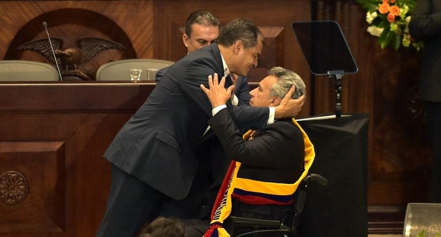 Cambio presidencial en Ecuador