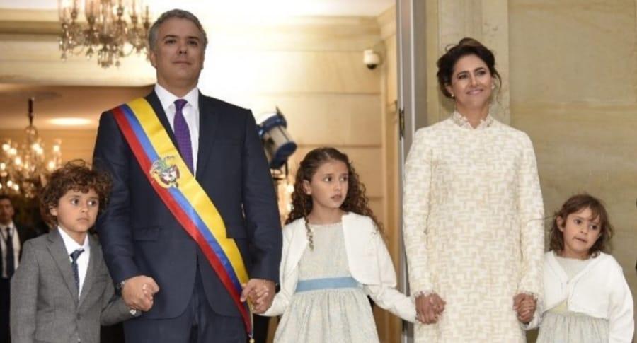 Familia Iván Duque
