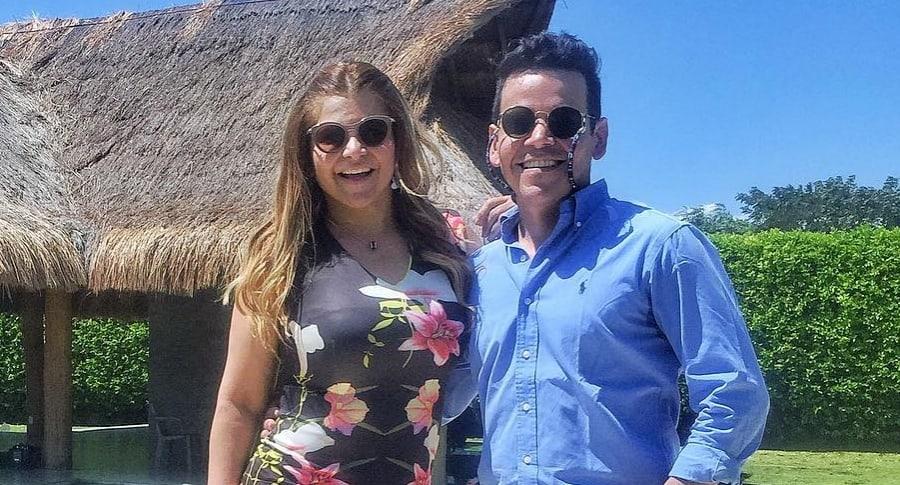 Diva Jessurum y Aco Perez