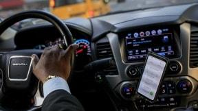 Vehículo de Uber en Nueva York