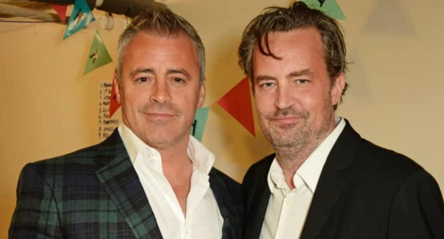 Matthew Perry y Matt LeBlanc