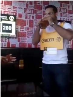 Ganador de competencia nacional de cerveza.