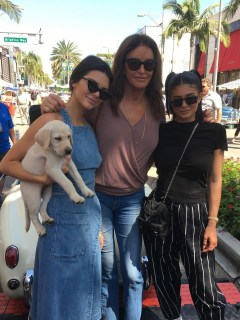Kendall, Caitlyn y Kylie Jenner