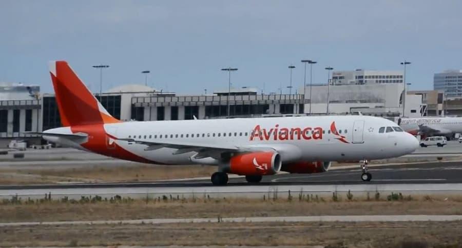 Avión de Avianca Airbus A320