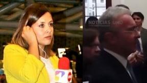 Paola Rojas y Álvaro Uribe