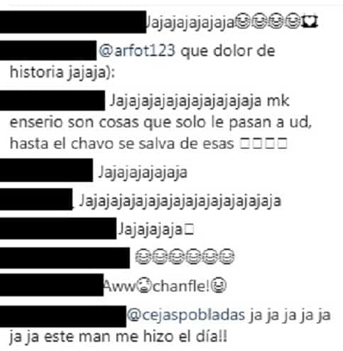 Comentarios post Ricardo Quevedo