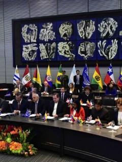 Reunión de Unasur en 2015