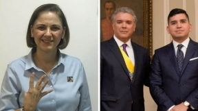 María del Rosario Guerra y Jonathan Malagón