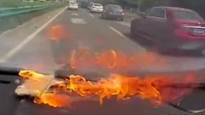 iPhone en llamas