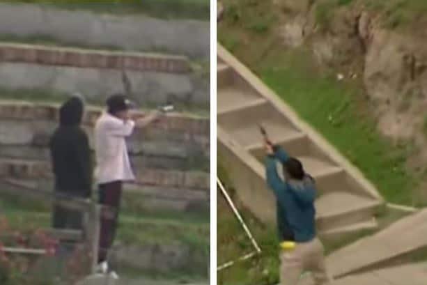 Enfrentamiento entre bandas delincuenciales en barrio La Paz
