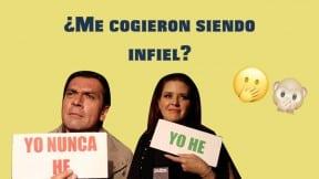 Jorge Salinas y Alicia Machado.