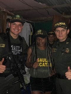 La Policía colombiana rescató hoy a Sara Rosmery Largacha