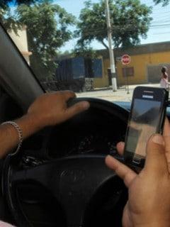 Manejar con Celular